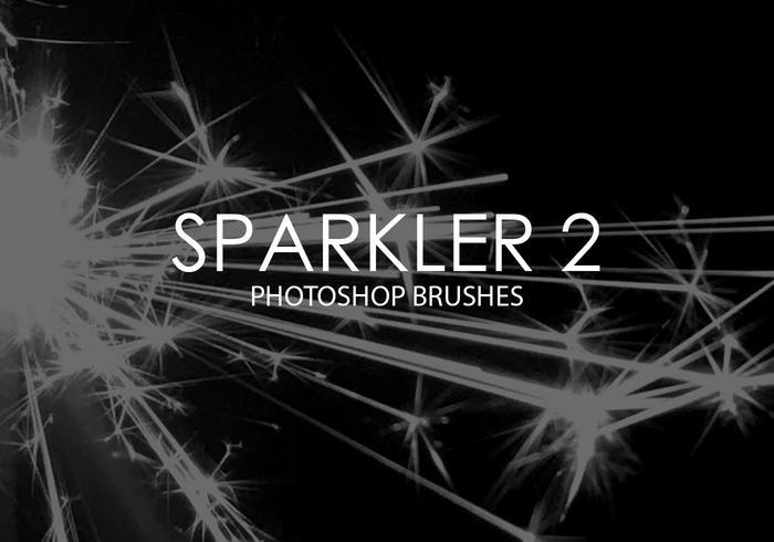 Pinceaux Photoshop Sparkler 2