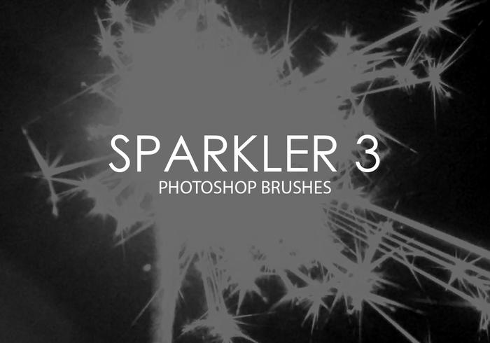Sparkler Photoshop Brushes 3