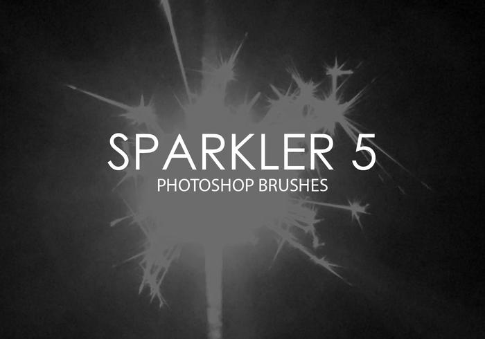 Pinceles do Photoshop sparkler 5