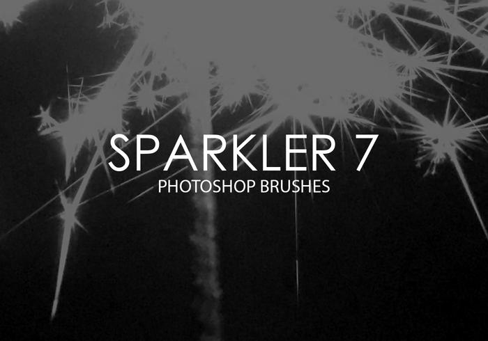 Sparkler Photoshop Brushes 7