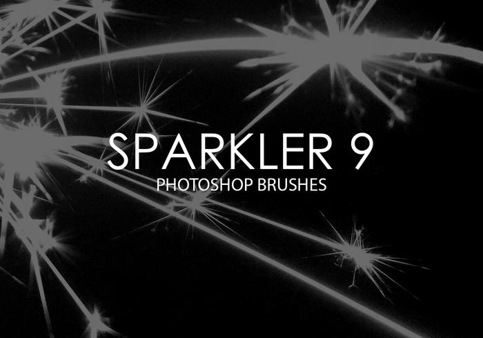 Sparkler Photoshop Brushes 9