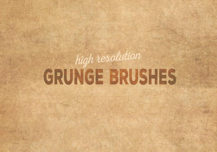 Olimpíadas Grunge Brushes