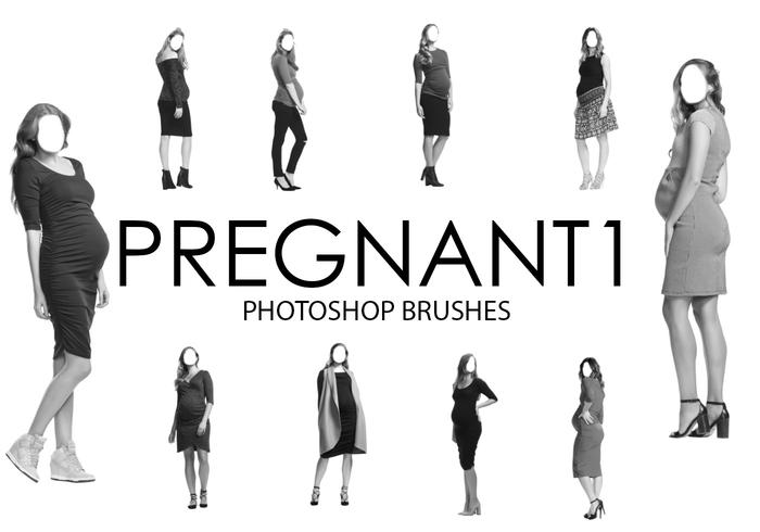 Pregnant Photoshop Brushes 1