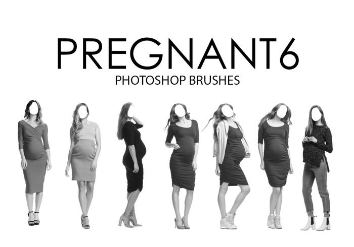 Pregnant Photoshop Brushes 6