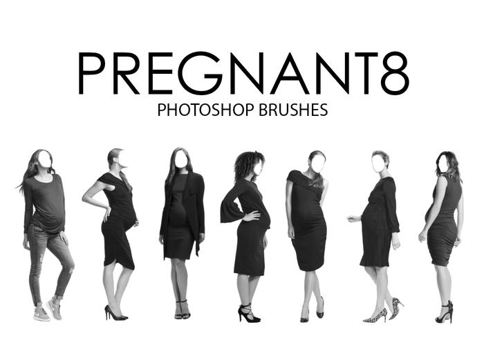 Pregnant Photoshop Brushes 8