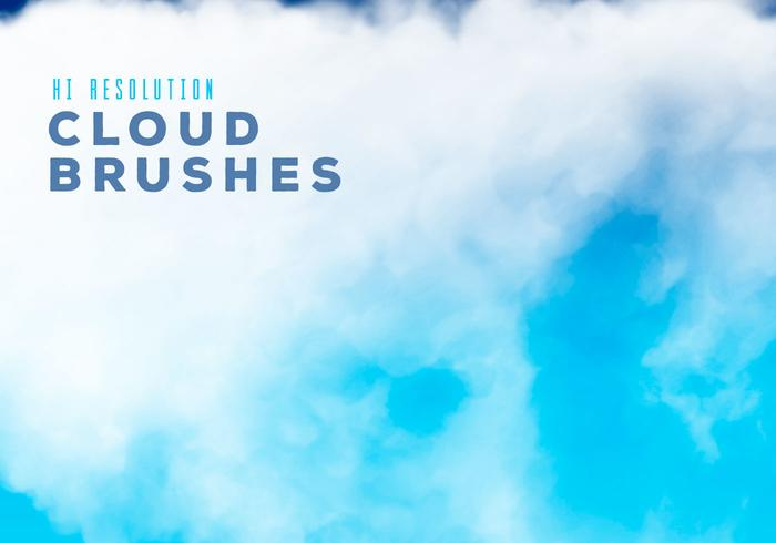 Hi Resolution Cloud Brushes