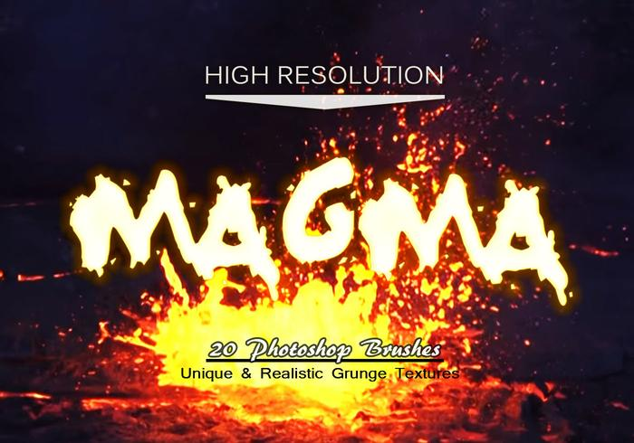 [Photoshop] 20 Magma Texture Ps Brosses.Abr 20-magma-texture-ps-brushes-abr-vol-9