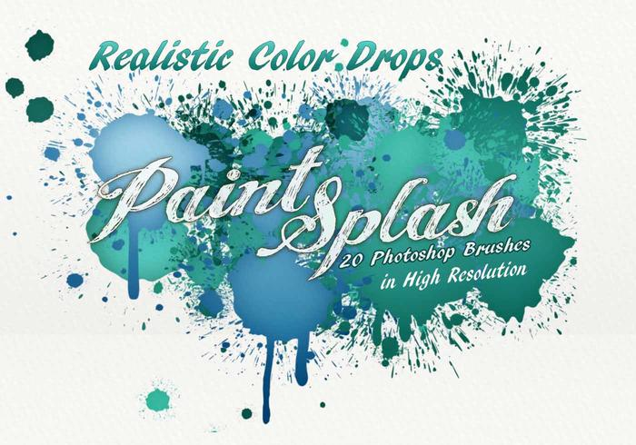 20 Paint Splash PS Pinsel.abr Band 7