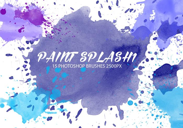 Paint Splash Brushes 1
