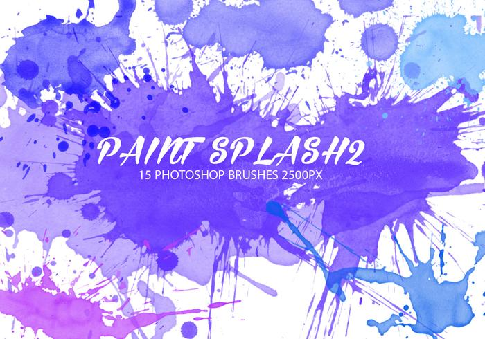 Paint Splash Pinsel 2