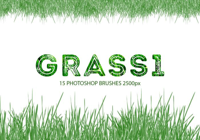 Gras Photoshop-borstels 1