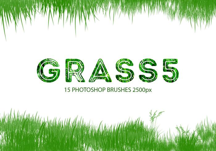 Grass Photoshop-penselen 5