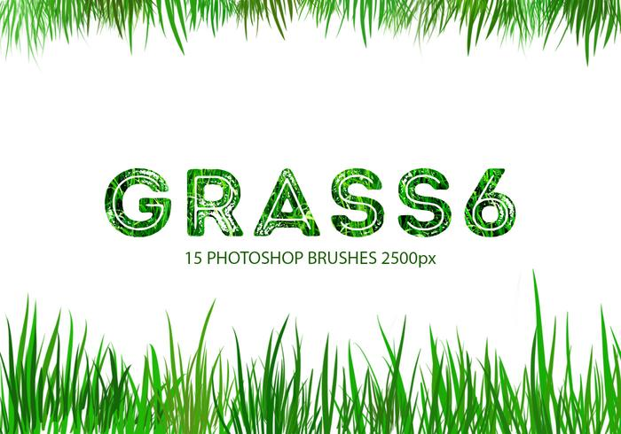 Grass Photoshop-penselen 6