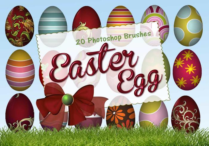 20 Huevos de Pascua PS Brushes abr. vol.5