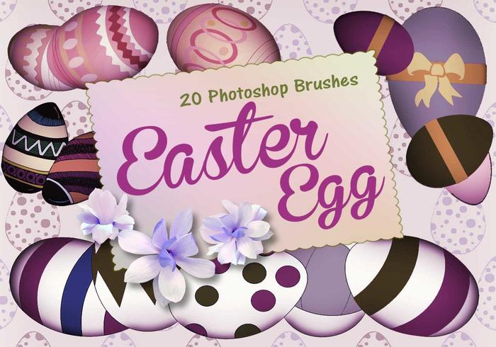 20 Huevos de Pascua PS Brushes abr. vol.2