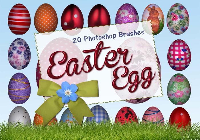 20 Huevos de Pascua PS Brushes abr. vol.8