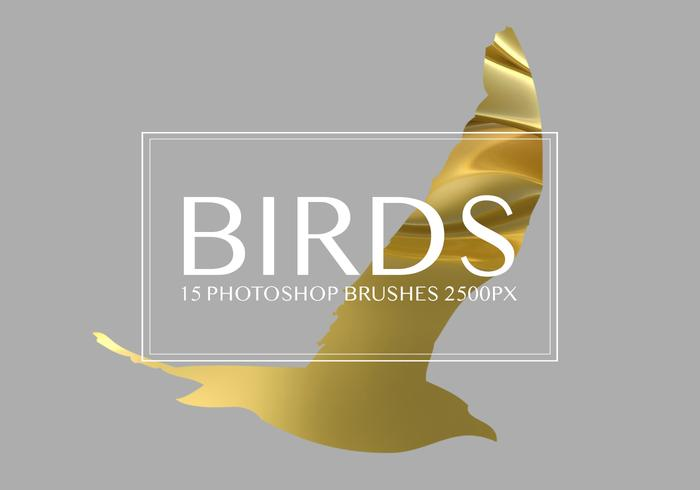 Birds Photoshop-penselen