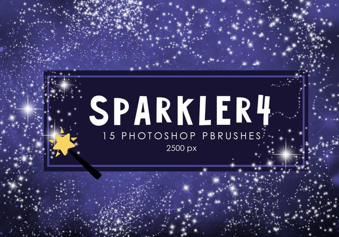 Star Sparkler Photoshop Borstar 4