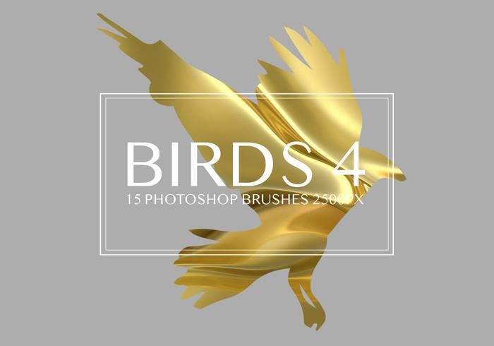Birds Photoshop-penselen 4