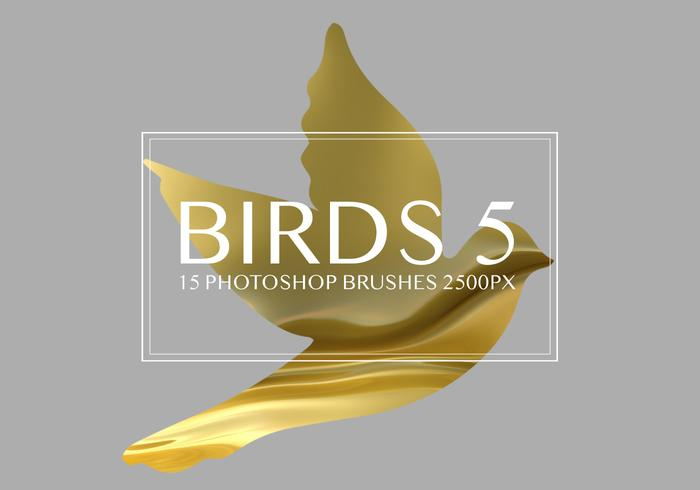 Birds Photoshop-penselen 5