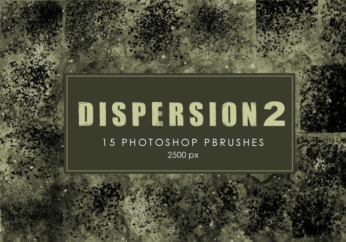 Dispersão Photoshop Brushes 2
