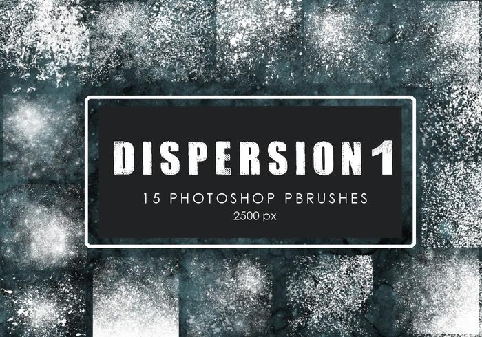 Dispersion Photoshop Brushes 1