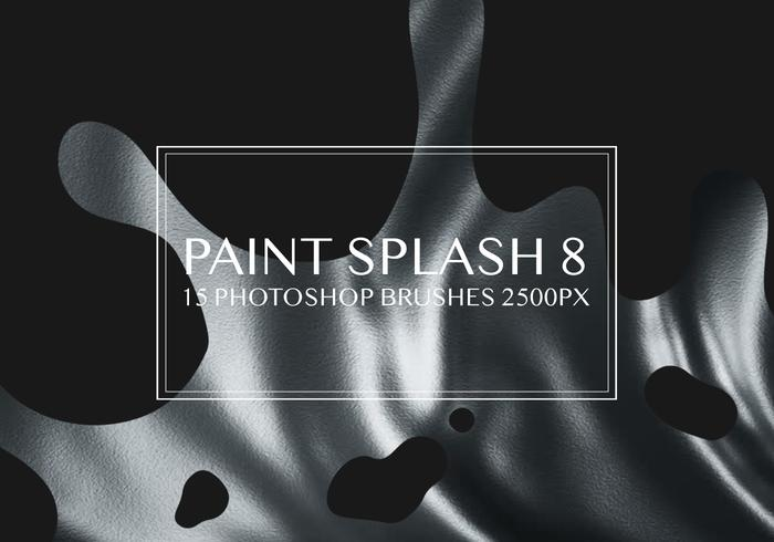 Paint Splash Photoshop Brushes 8
