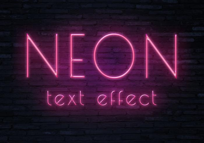 Neontext effect3