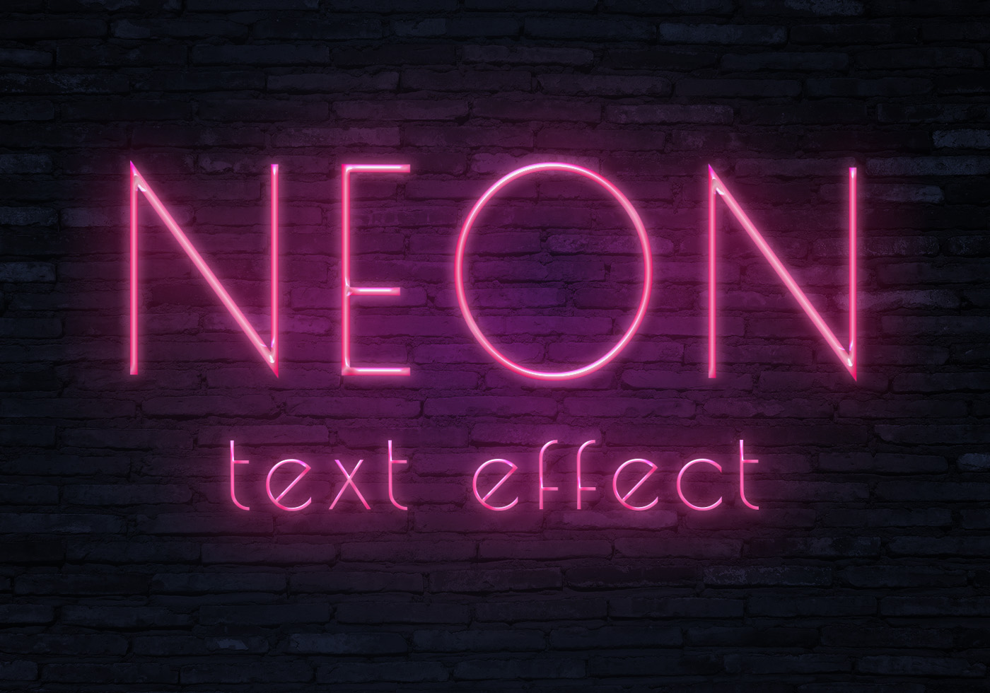 Neon text effect3 - Free Photoshop Brushes at Brusheezy!