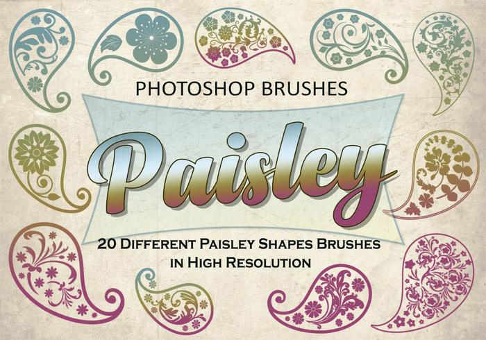20 Paisley PS Brushes abr. vol.1