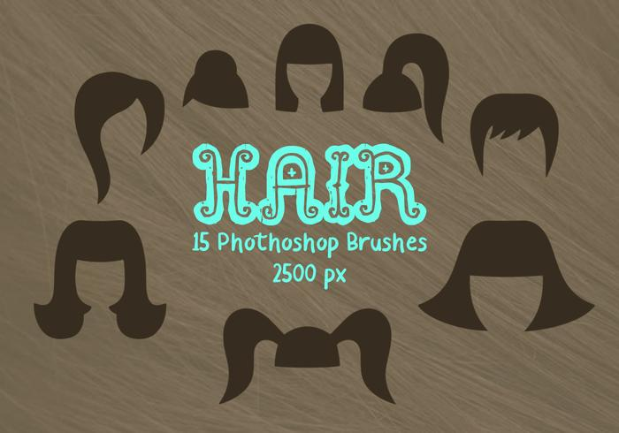 Hair Photoshop Brushes