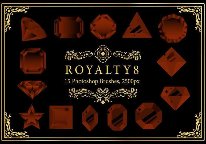 Royalty Photoshop Brushes 8
