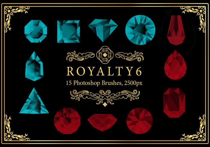 Royalty Photoshop Pinsel 6