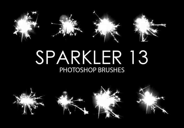 Pinceles para Photoshop Sparkler 13