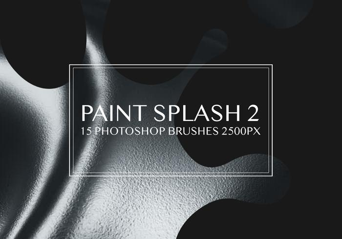 Paint Splash Photoshop Borstar 2