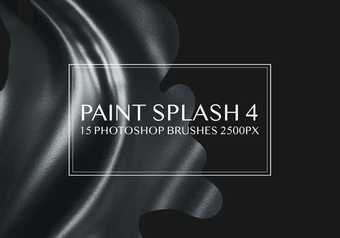 Paint Splash Pinceles para Photoshop 4