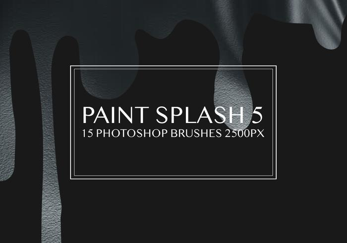 Paint Splash Photoshop-penselen 5