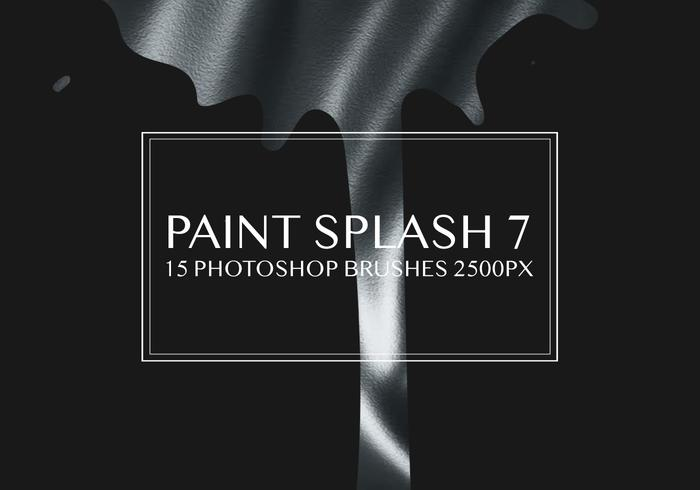 Paint Splash Photoshop Pinceaux 7