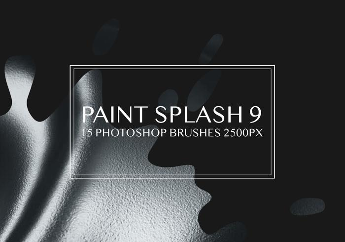 Paint Splash Photoshop Pinsel 9