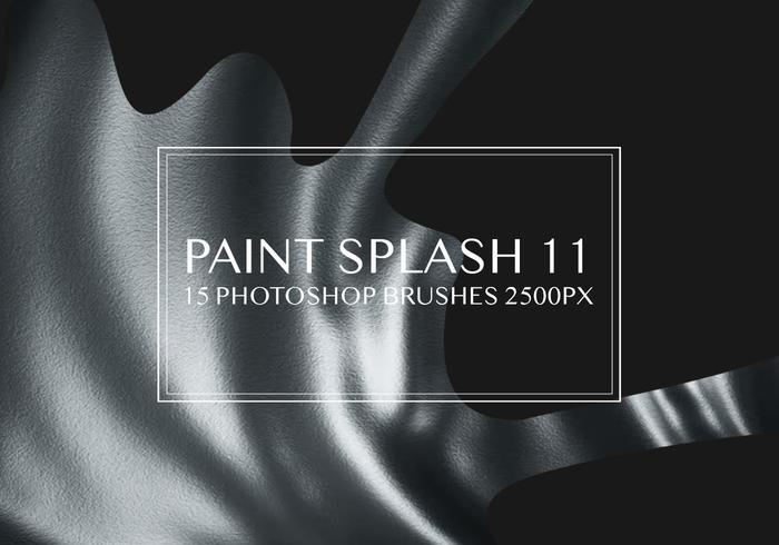 Paint Splash Photoshop borstar