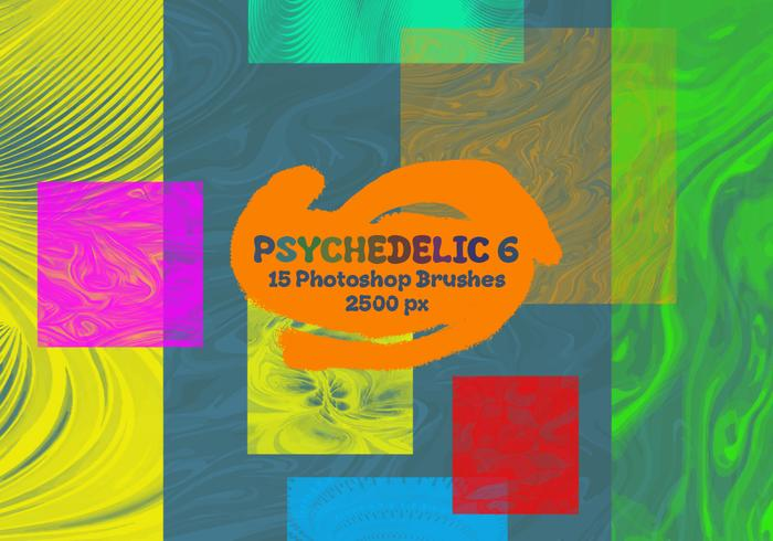 Psychedelische Photoshop-penselen 6