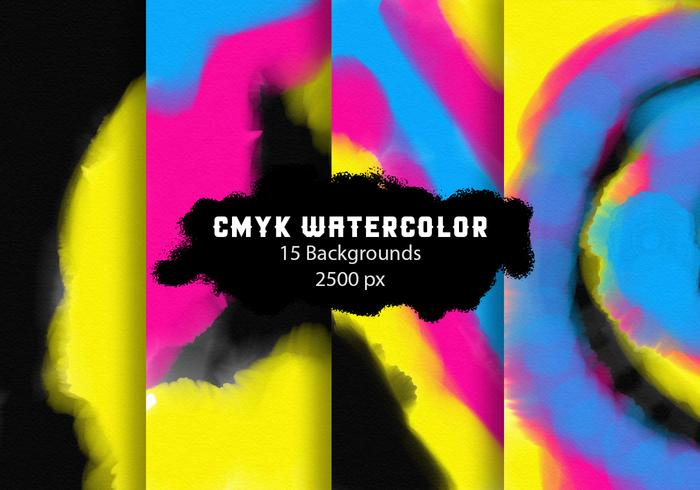 Cmyk Photoshop Fundos