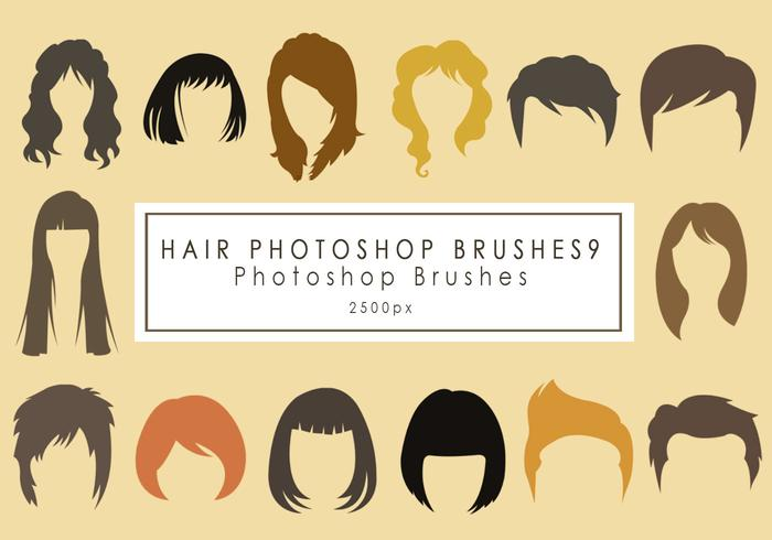Hair Photoshop Brushes9