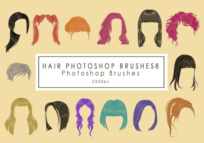 Hair Photoshop Brushes8