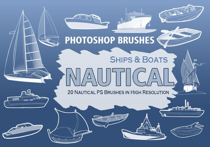 20 Nautical PS Brushes abr. vol.2