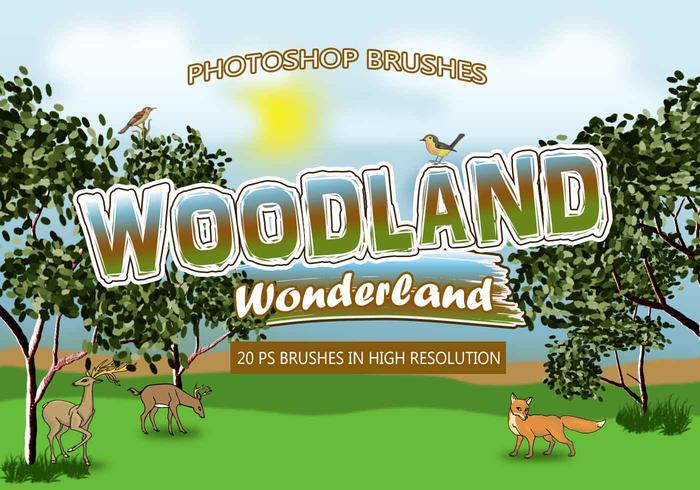 20 Woodland Wonderland PS Brushes abr. vol.2