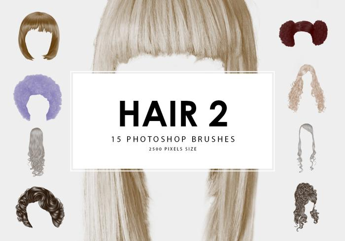 Hair Photoshop Brushes 2