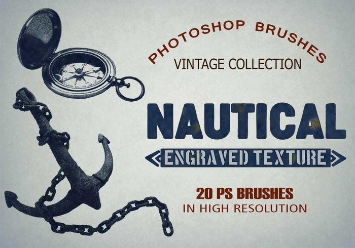 20 Nautical PS Brushes abr. vol.5