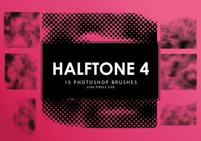Halftone Photoshop Brushes 4
