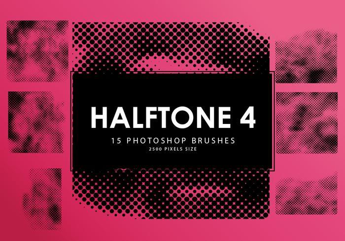 Halbton Photoshop Pinsel 4